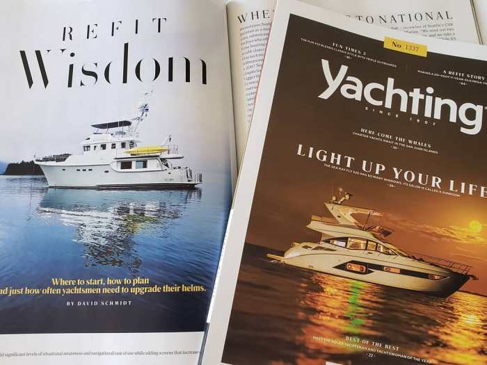Red Rover in Yachting Magazine