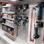 Tool Storage and Engine Room Lighting