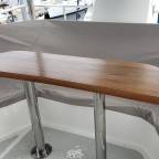 Teak Table for Flybridge